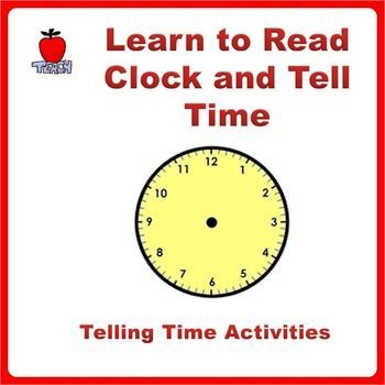 Telling time worksheets and clock printable activities grade k 4 learn to read clock and tell time with printable activitiesa comprehensive package to teach kids about time from daily activities read analog and digital ibookread Read Online