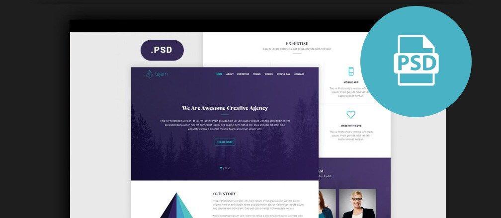 30+ Best Free Photoshop PSD Website Templates 2017 https ...