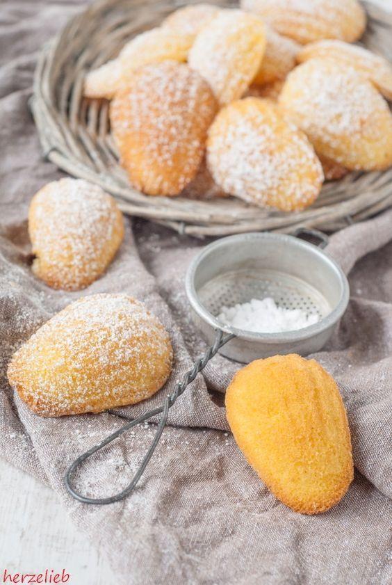 Madeleines Rezept – Kleine Kuchen, die ganz schnell gemacht sind! | Sweet bakery, Baking recipes, Food