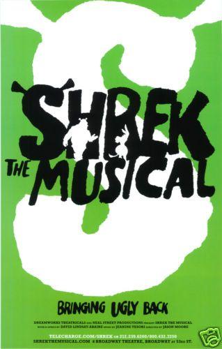 Shrek Deborahperham Broadway Posters Musicals