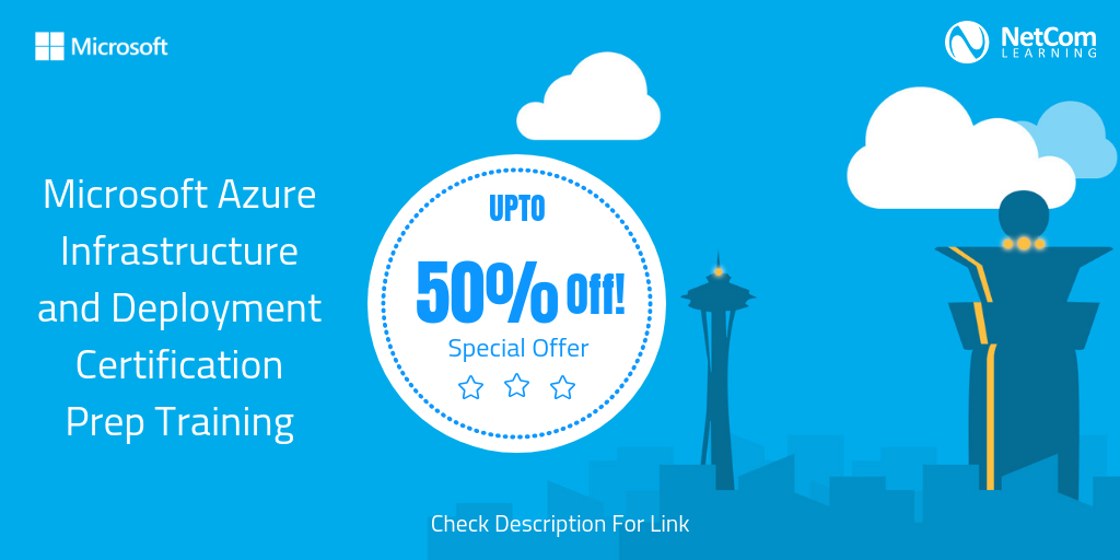 Learn More About Discount Offers On Microsoft Azure Training Here
