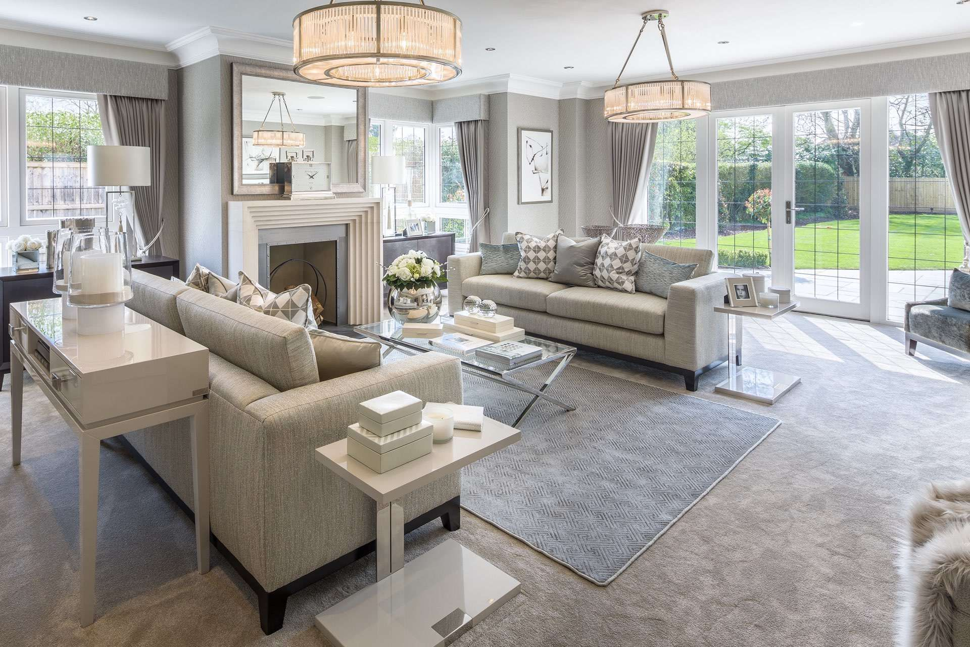 A luxurious welcoming and comfortable family home