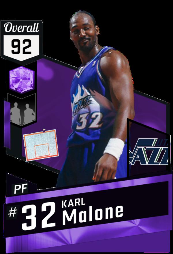 Karl Malone 32 (USA) Utah Jazz Karl malone, Karl