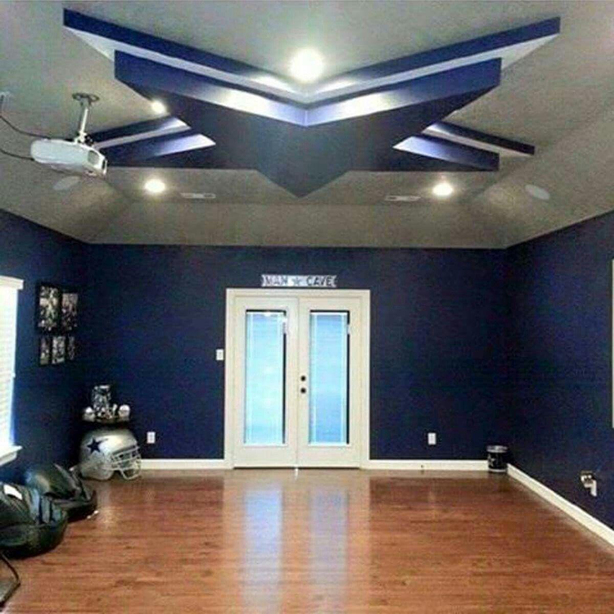 Dallas Cowboys Game Room Ideas