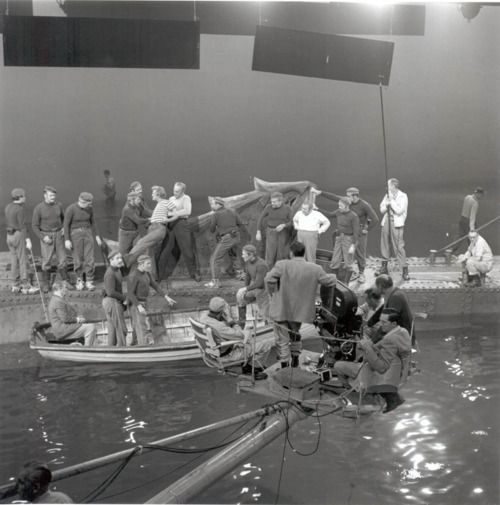20 000 leagues under the sea, walt disney productions. on set, 1954