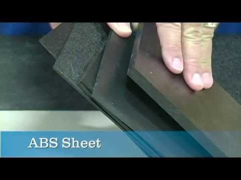 Learn More About Abs Sheets On This Video Tap Plastics Abs Six Packs