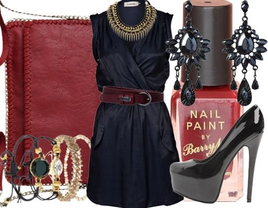 Black Silk - Evening Outfits - stylefruits.co.uk