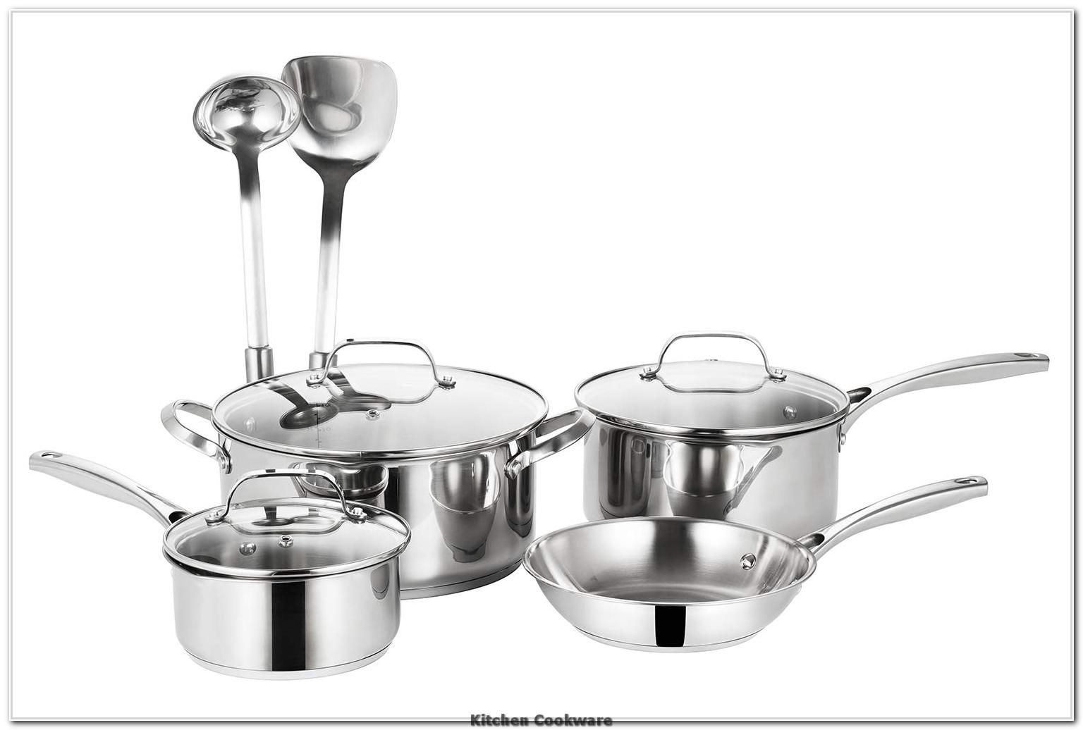 Ss304 Stainless Steel Cookware Set