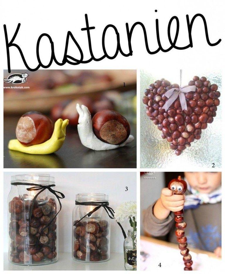 Basteln im Herbst mit Kindern - von Naturmaterialien bis Knöpfe #fensterdekoherbst