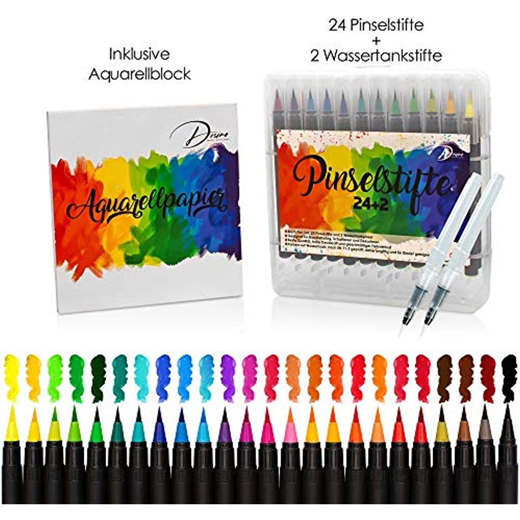 Desimo Premium Pinselstifte 38er Set Kostenloser
