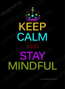 Stay Calm ...
