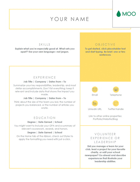 Crisp And Clean Resume Designed By Moo Resume Layout Resume Design Resume Design Template