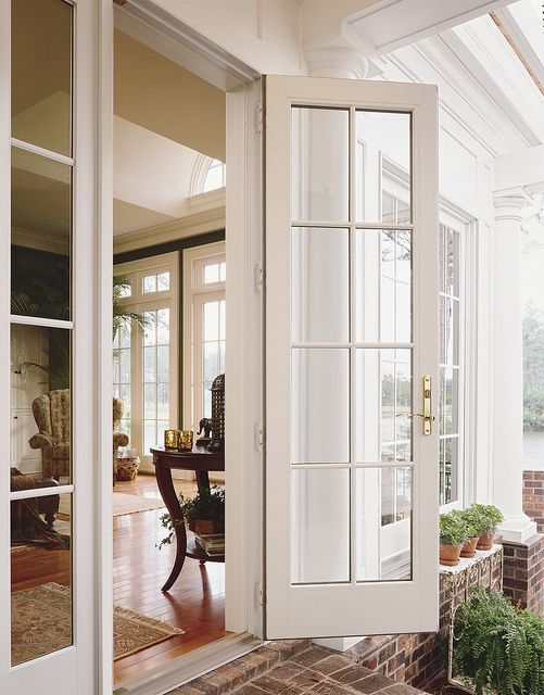 Pin by rba central pa on french patio doors french doors - Exterior french doors with sidelights ...