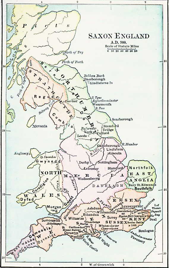 Map Of Uk Derby.Saxon England Print This Map Out For Binder Look At Or Color When