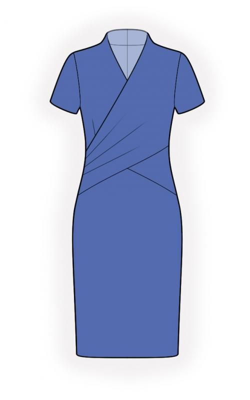 Dress - Sewing Pattern #4504 Made-to-measure sewing pattern from ...