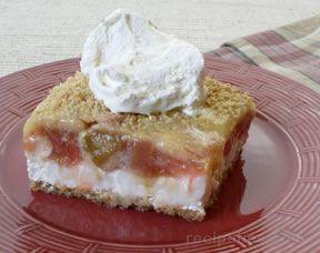 Rhubarb Torte Recipe from RecipeTips.com!