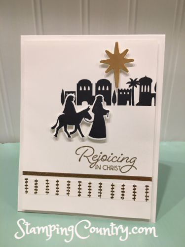 Night in Bethlehem by Robin Lee - Cards and Paper Crafts at Splitcoaststampers