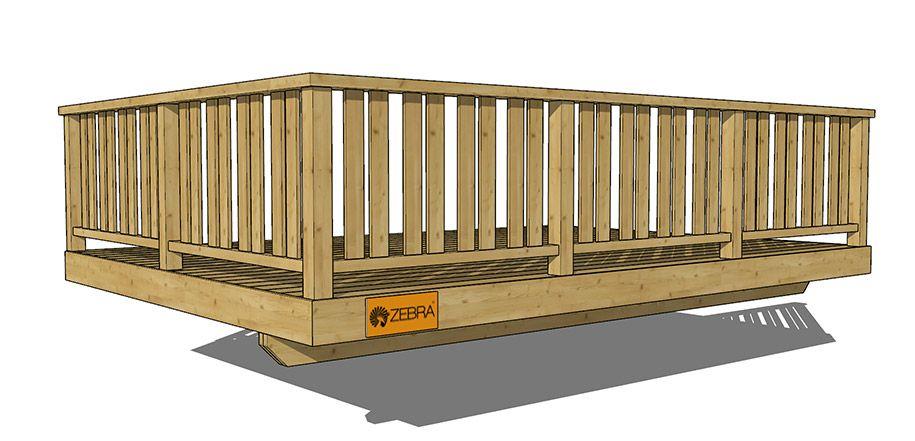 Deck Railing Vertical 8   Deck railings, Railing design ...