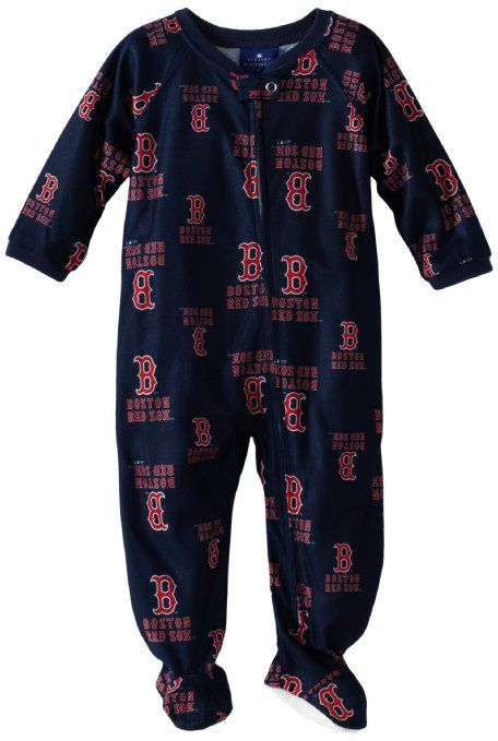 Amazon Com Mlb Infant Boston Red Sox Full Zip Raglan Coverall
