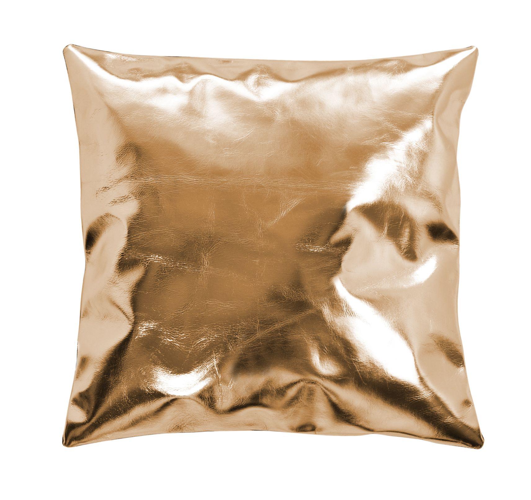 Miedziana Skórzana Dekoracyjna Poduszka Copper Leather