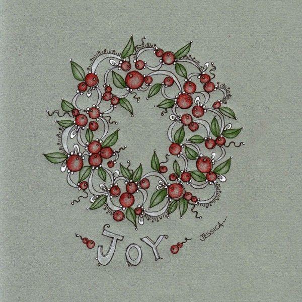 Photo of Jessica Doyle Christmas doodles