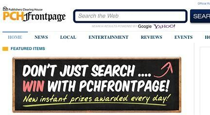 Image result for PCH Search and Win Entry | activate and