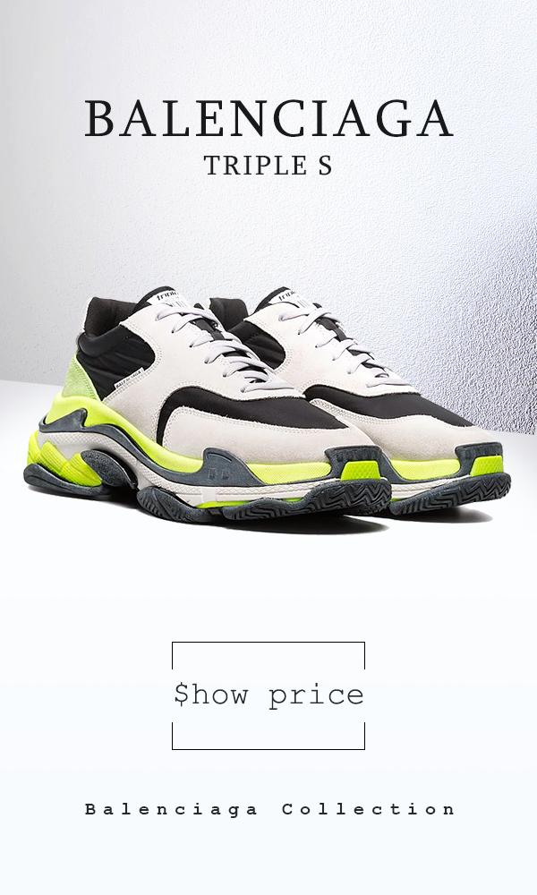 Mens Sneakers Balenciaga White Triple S Pinterest