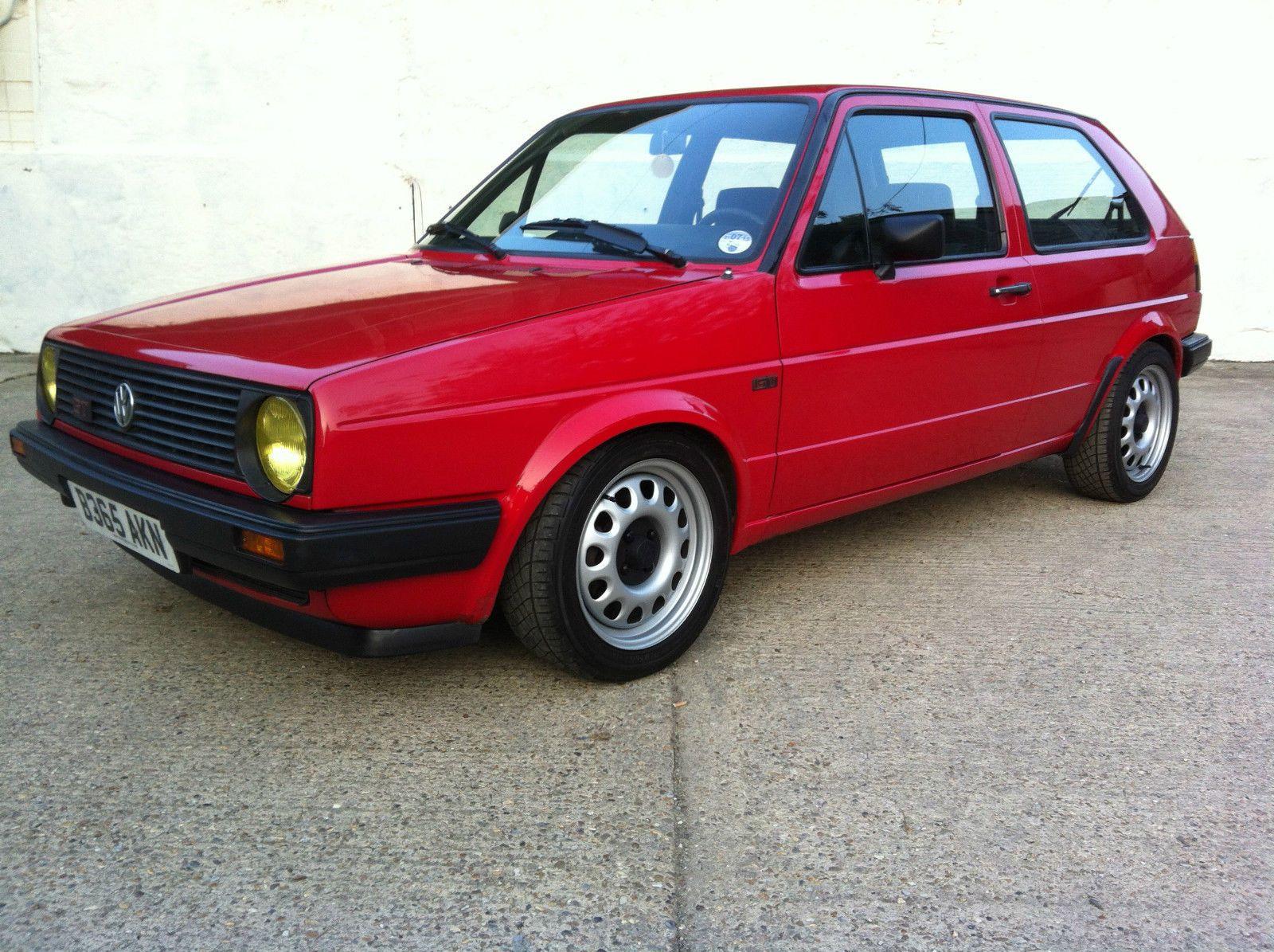 1985 Volkswagen Golf Gt Mk2 Not Gti Volkswagen Golf Gt For Sale In United Kingdom It S A Volkswagen Mk2 Gt 2 D Volkswagen Golf Mk2 Volkswagen Volkswagen Golf