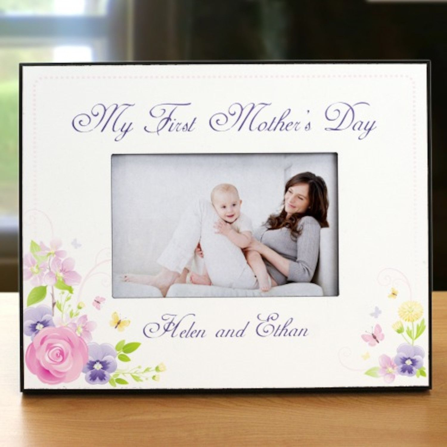Personalized My First Mothers Day Printed Frame | Products ...