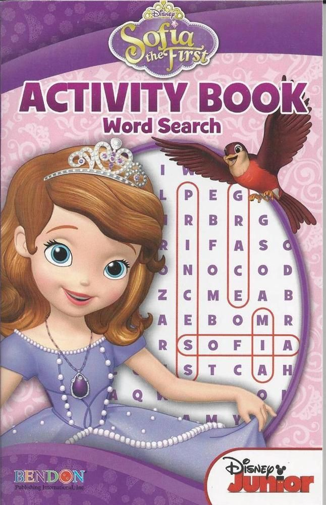 BENDON PUZZLE BOOK SOFIA THE FIRST DISNEY