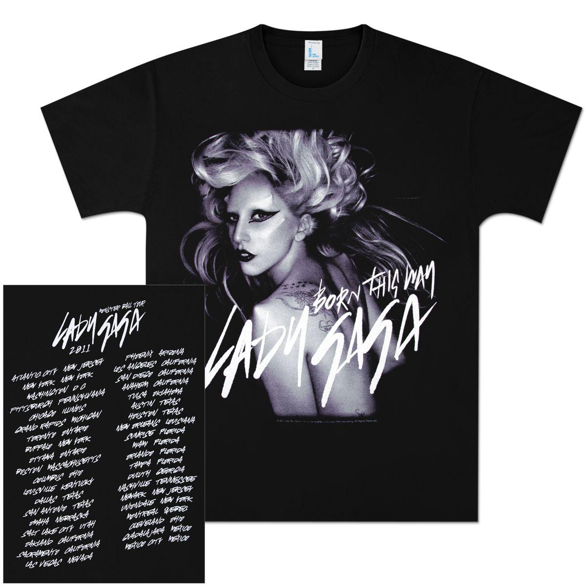 Monster Ball Tour T Shirt Most Amazing Night Tour T Shirts Shirt Shop Lady Gaga