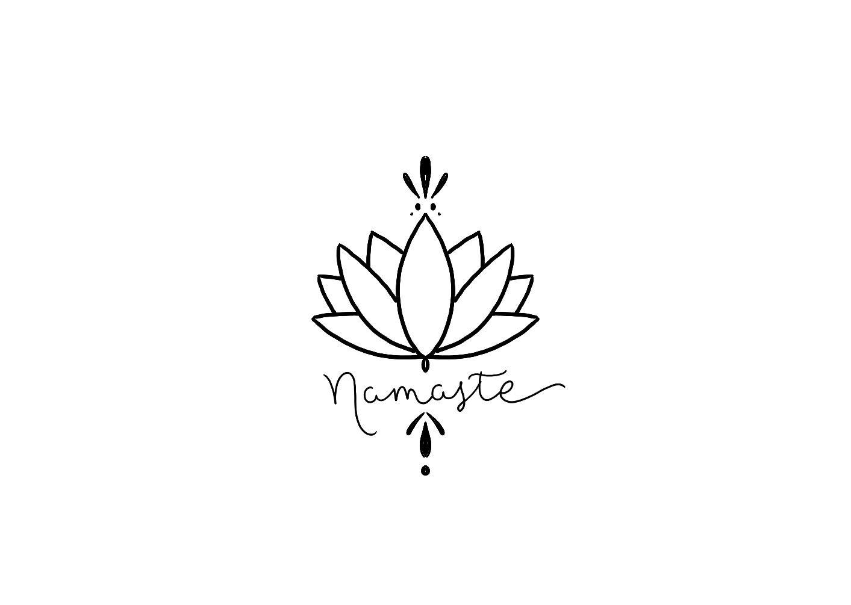 Lotus Namaste With Images Yoga Tattoos Namaste Tattoo Yoga Symbols