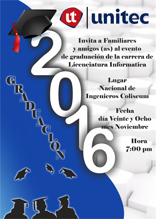 espaciohonduras tarjetas de invitacion para graduacin httpwwwespaciohondurasnet