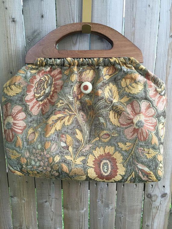 Tapestry Knitting Bag Knitted Bags Bags Vintage Fashion