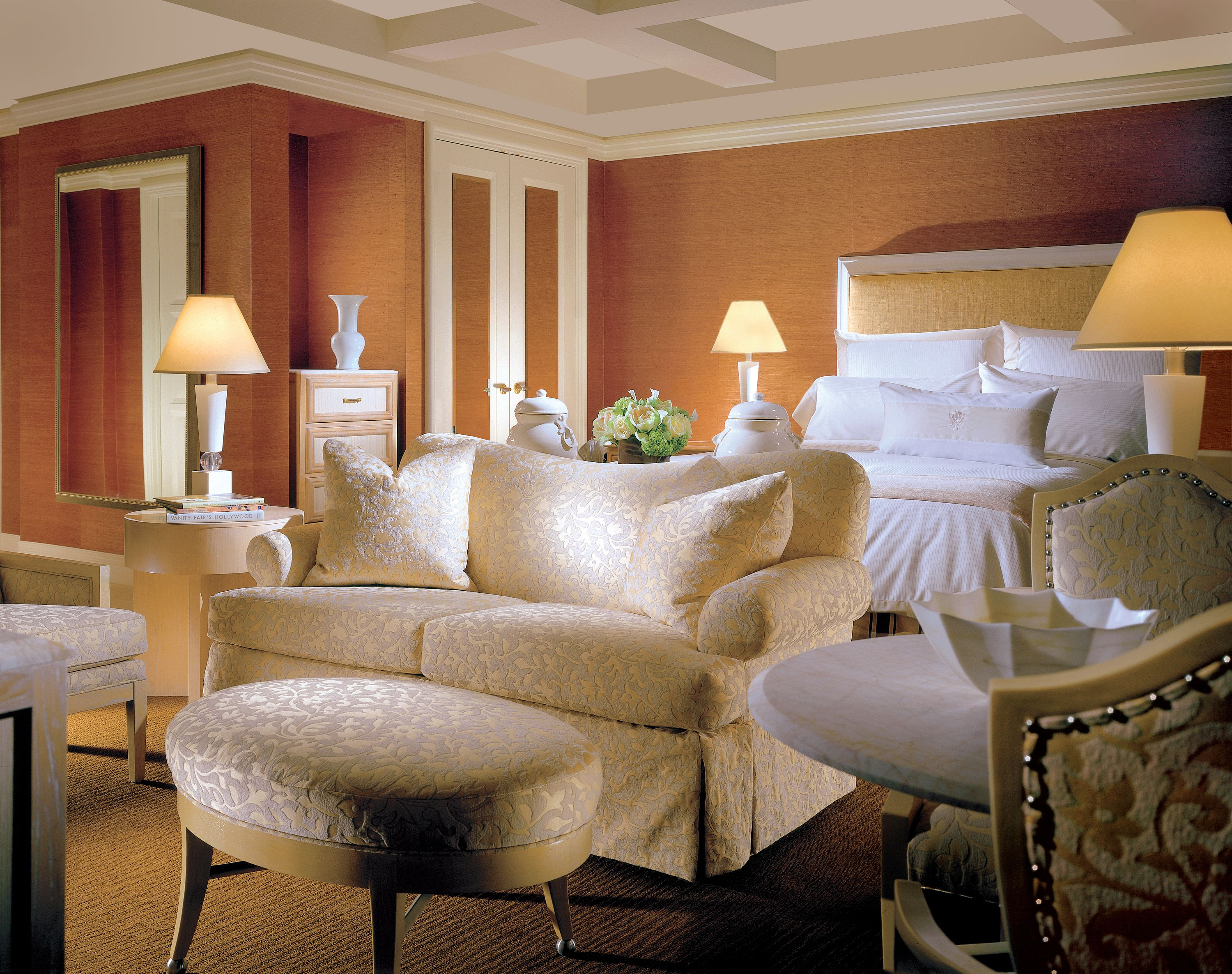 A small glimpse of the executive suite at the Wynn (With