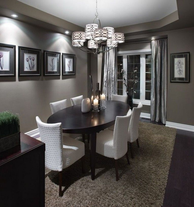 20+ Classy And Elegant Dining Room Ideas images
