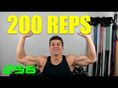200 rep strength training bodyweight workout  youtube