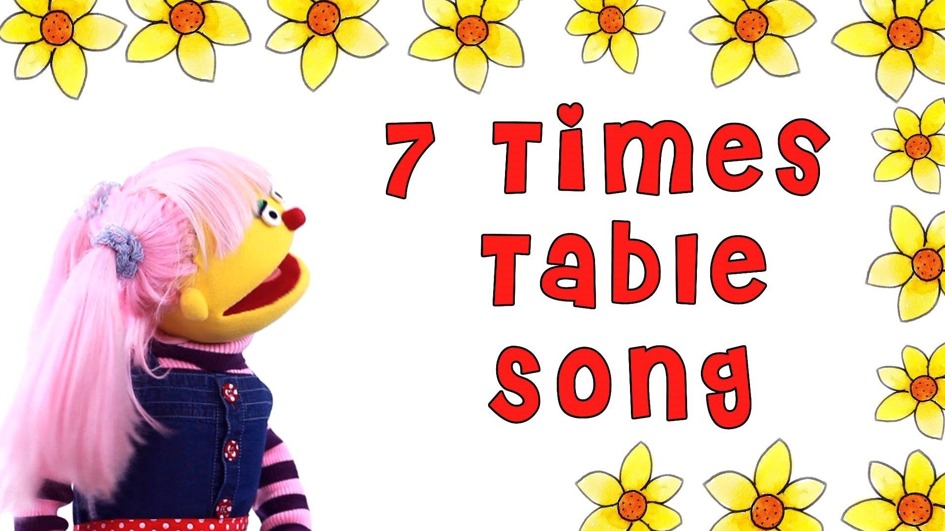 7 Times Table Rhyme