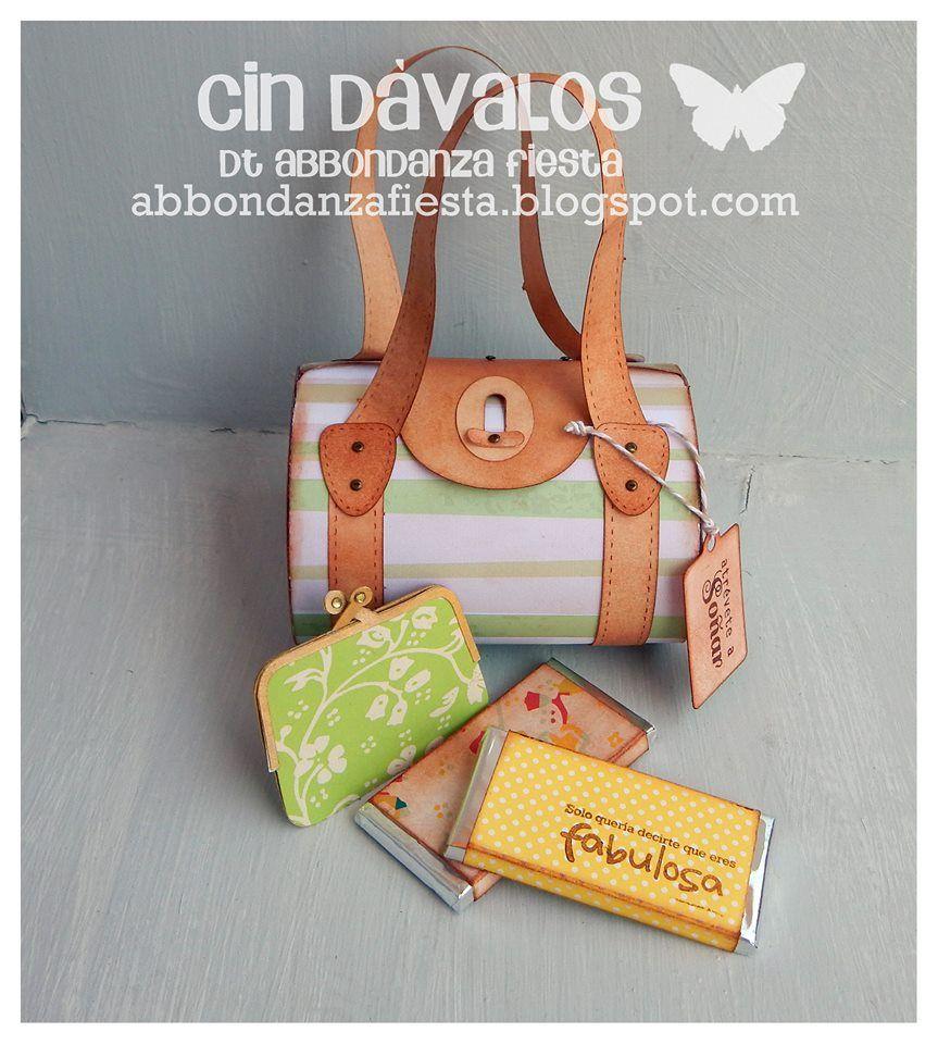 Reto 18: Un bolso para mamá | Abbondanza Fiesta - Papel para Scrapbook en México