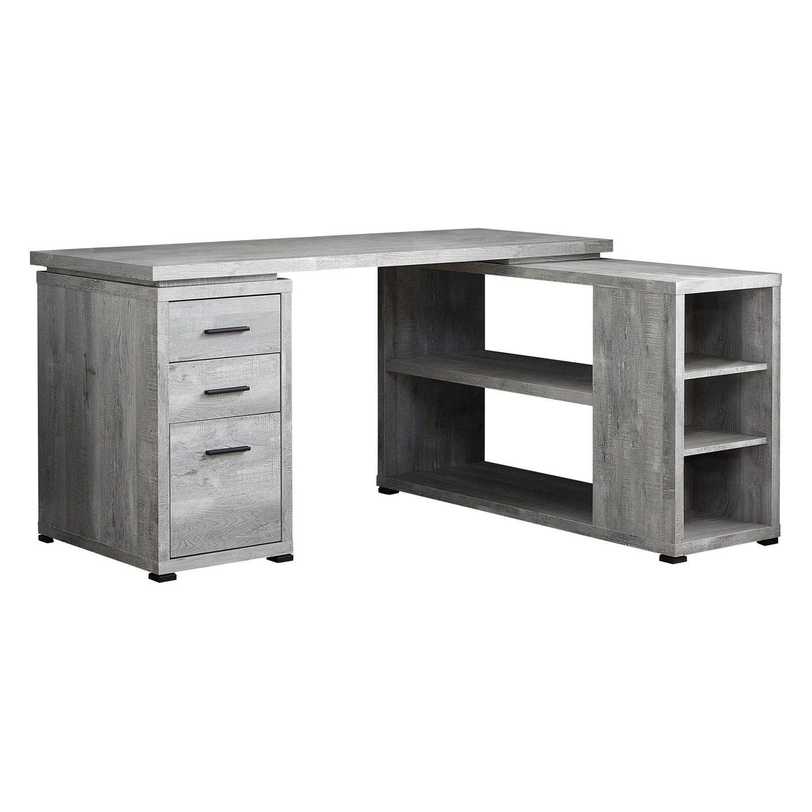 Monarch Specialties Rustic Corner Computer Desk in 2019 ...