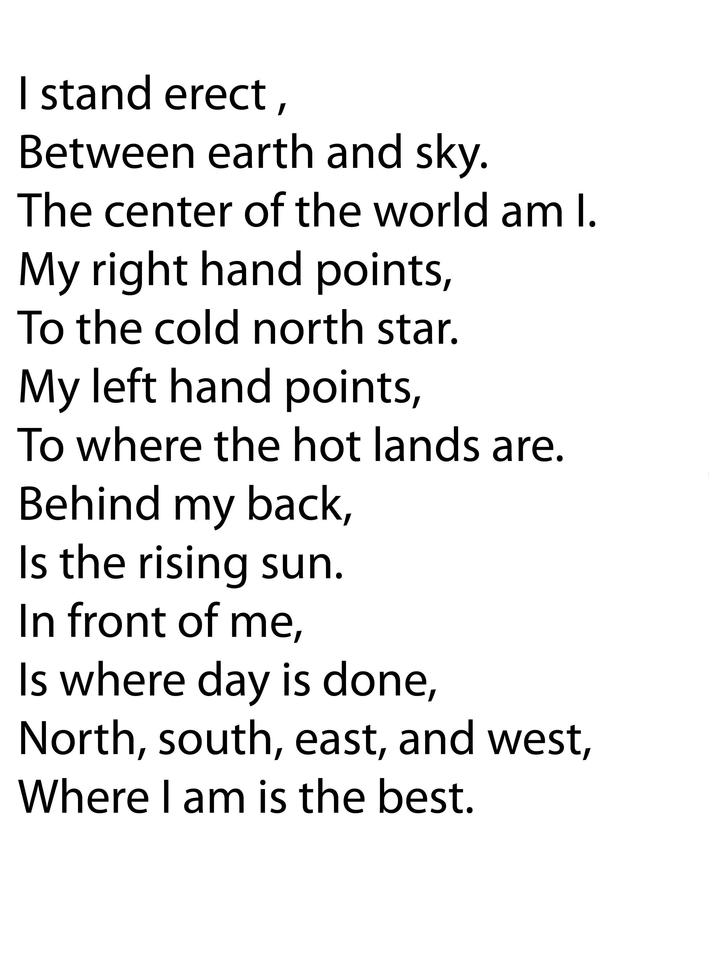 Voorkeur engels gedicht | klas 4 vreemde talen vrijeschool waldorfschool @ZB16