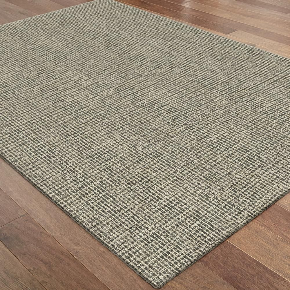 Stonybrook Gray 9 Ft 6 In X 12 Ft 2 In Area Rug 499205 The Home Depot Rugs Area Rugs Home Depot