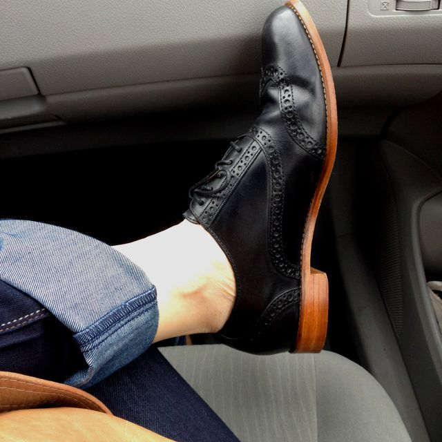 My favorite oxford --Cole haan