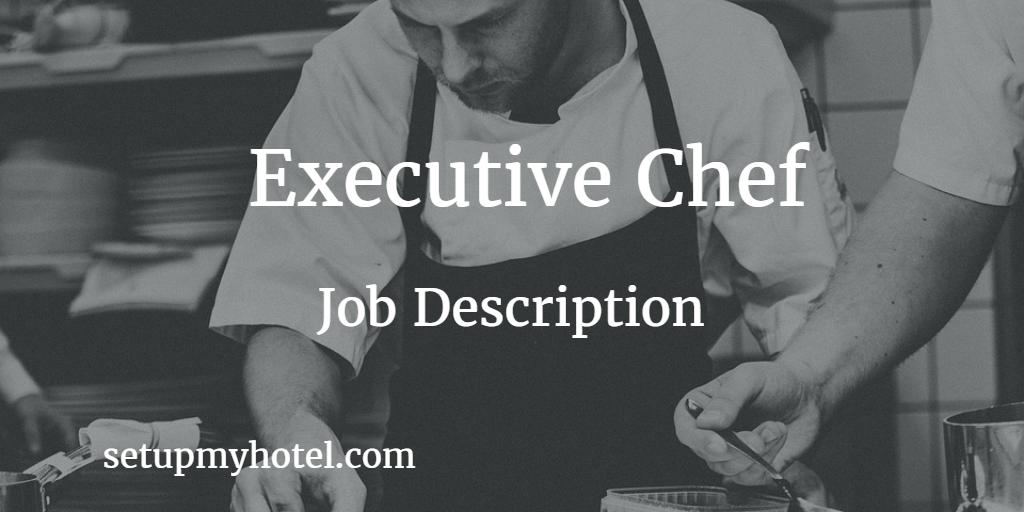 chief engineer duties and responsibility hotel job descriptions pinterest job description - Banquet Chef Job Description