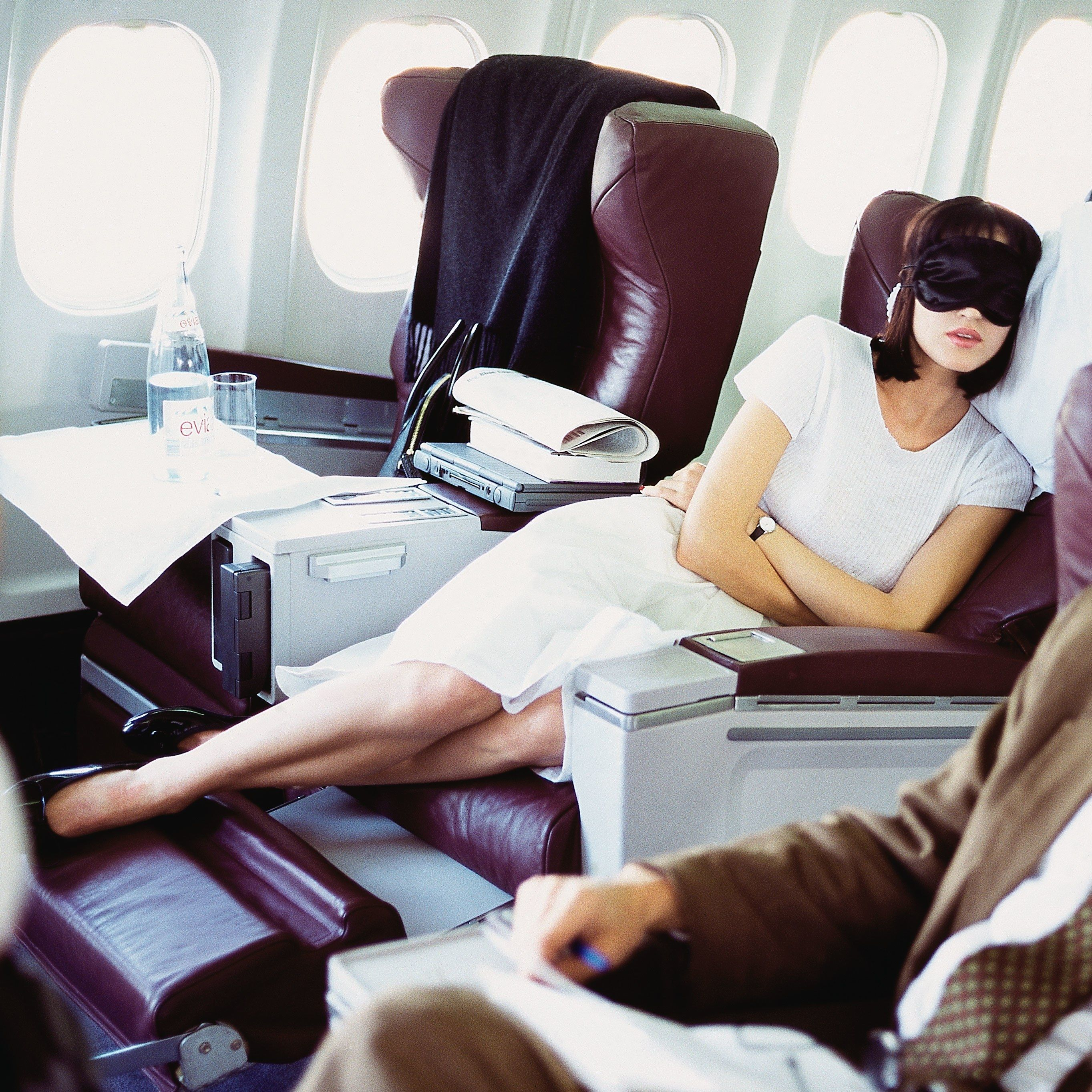 Here S How To Get The Best Sleep Of Your Life On An Airplane