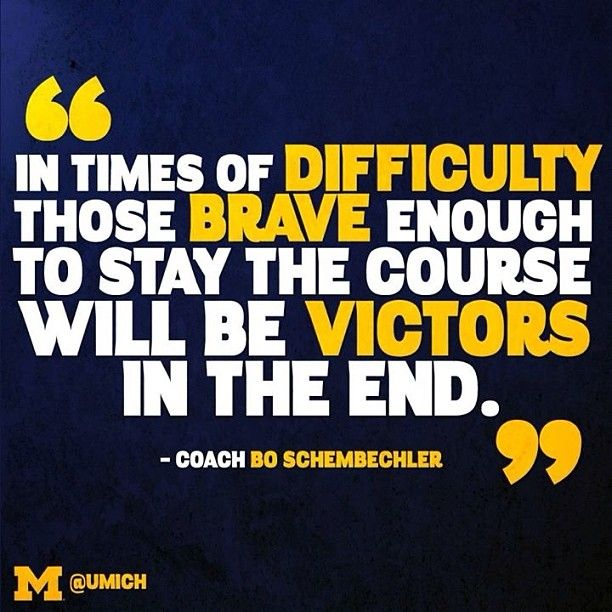 Motivational Quotes For Sports Teams: Best 25+ Bo Schembechler Ideas On Pinterest