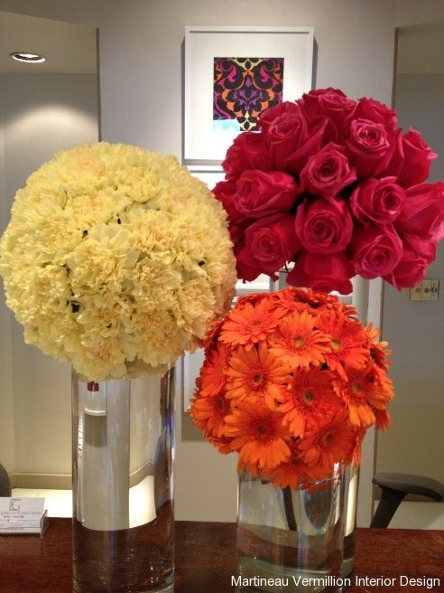 Floral Design via Amy Martineau Vermillion Interior Design ...