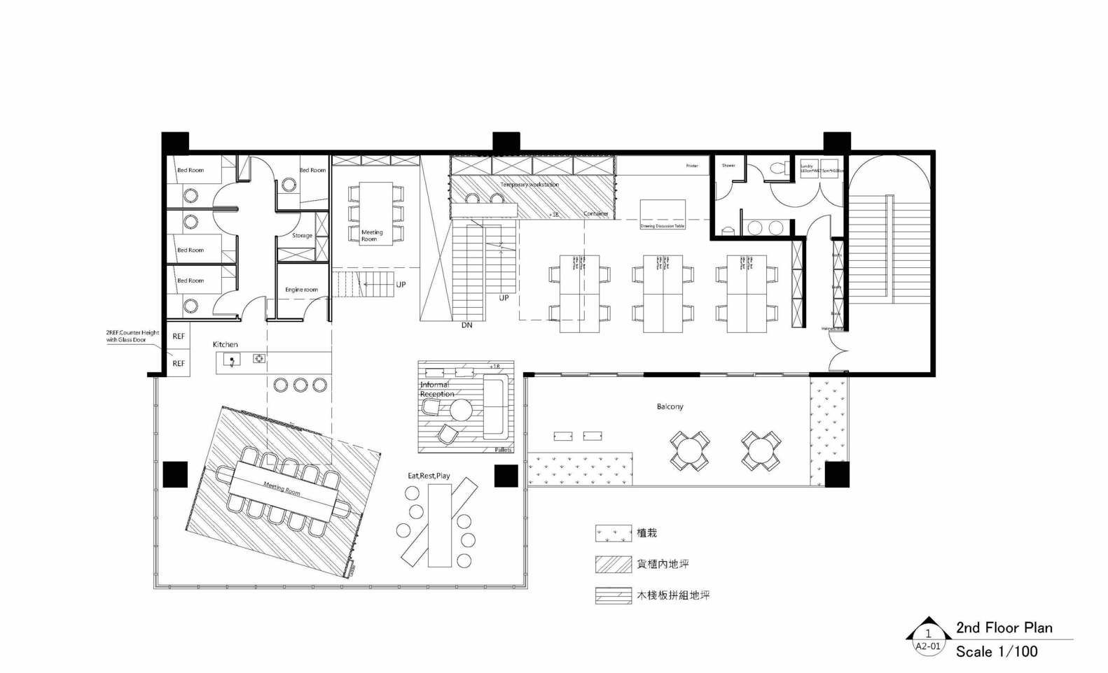 Gallery of ALP Logistic Office JC Architecture 9 Office plan