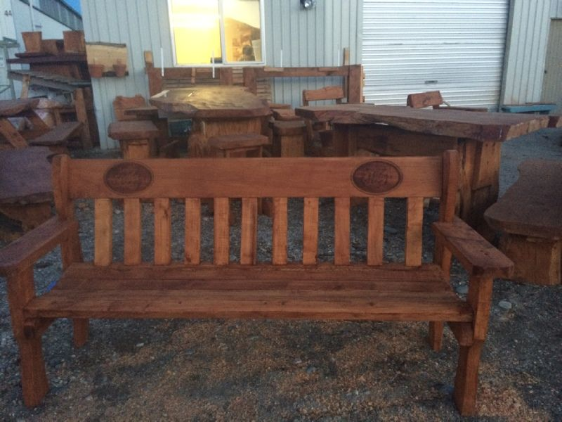 St. Bathans Double Outdoor Bench Seat. Custom Made And
