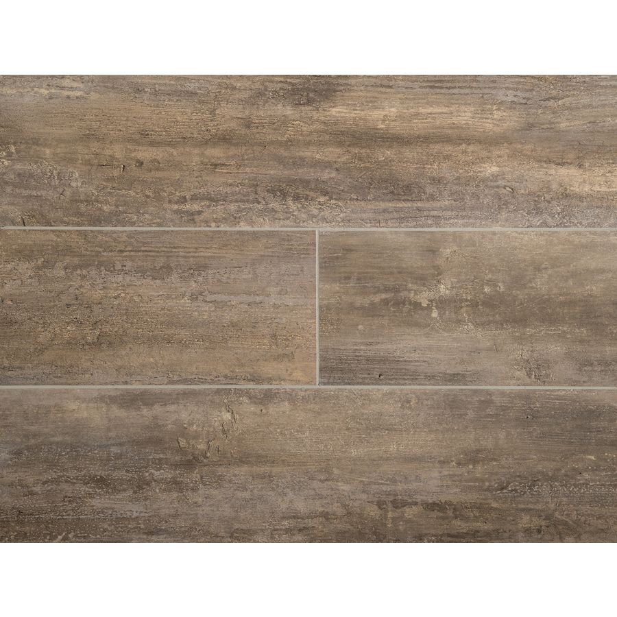 Stainmaster 1 Piece 6 In X 24 In Groutable Naturale Petrified Peel And Stick Travertine Vinyl Tile Groutable Vinyl Tile Vinyl Tile Wood Vinyl